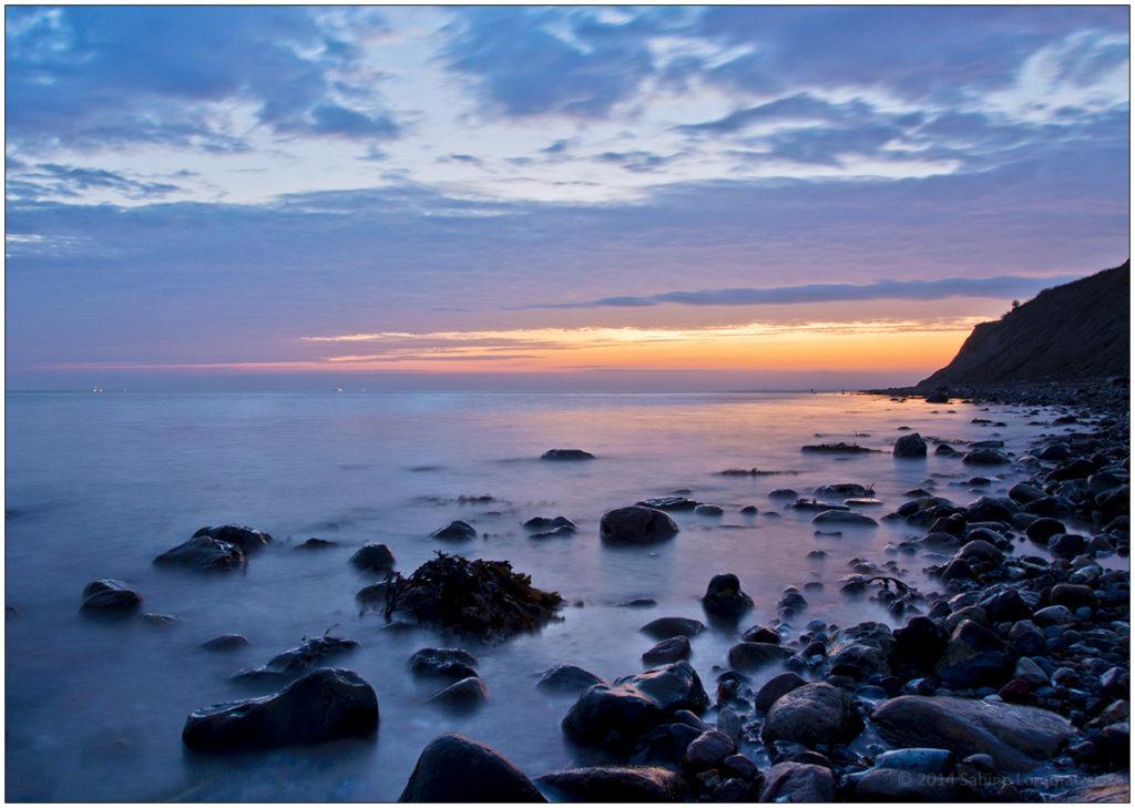 Sonnenaufgang an der Ostsee bei Kiel © 2014 Sabine Lommatzsch