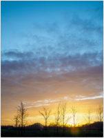 Sonnenuntergang I © 2020 Sabine Lommatzsch