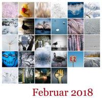 365-Tage-Projekt Februar-Tableau © 2018 Sabine Lommatzsch