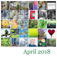 365-Tage-Projekt April-Tableau © 2018 Sabine Lommatzsch