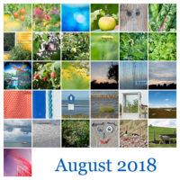 365-Tage-Projekt August-Tableau © 2018 Sabine Lommatzsch
