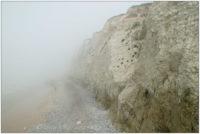 Cap Blanc Nez im Nebel, Pas de Calais © 2012 Sabine Lommatzsch