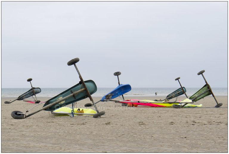 Strandsegler bei Equihen, Pas de Calais © 2012 Sabine Lommatzsch