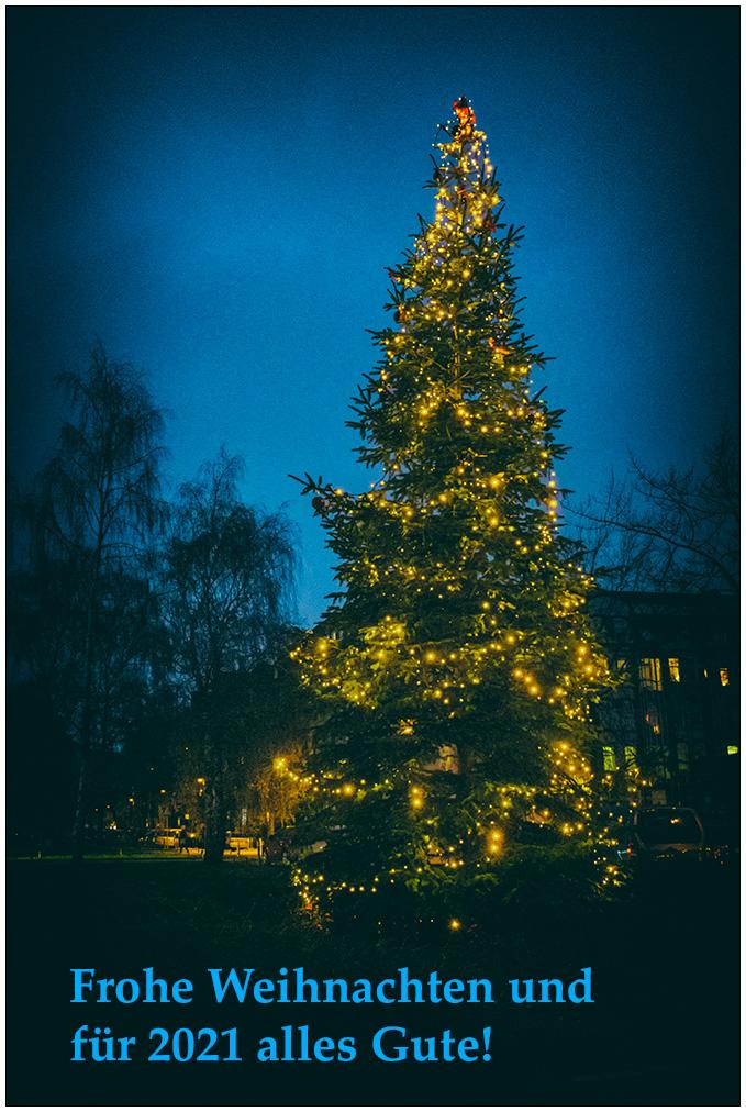 Frohe Weihnachten! © 2020 Sabine Lommatzsch