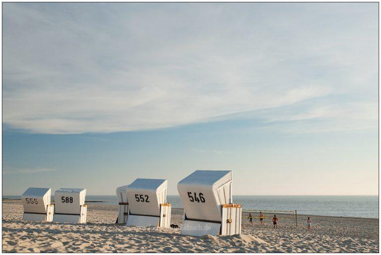 Strandkörbe auf Sylt © 2008 Sabine Lommatzsch