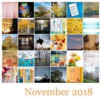 365-Tage-Projekt November-Tableau © 2018 Sabine Lommatzsch
