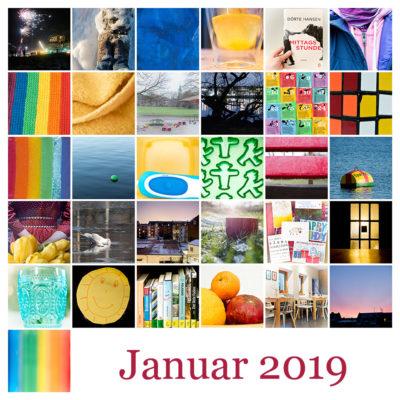 365-Tage-Projekt Januar-Tableau © 2019 Sabine Lommatzsch