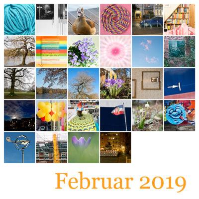 365-Tage-Projekt Februar-Tableau © 2019 Sabine Lommatzsch