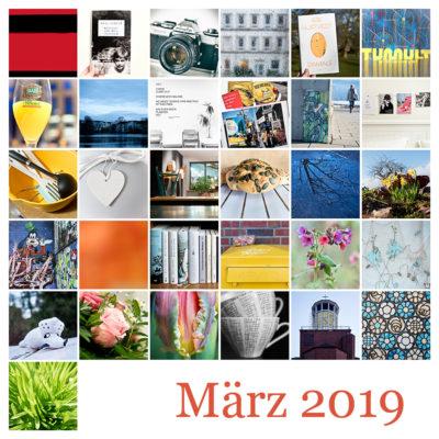 365-Tage-Projekt März-Tableau © 2019 Sabine Lommatzsch