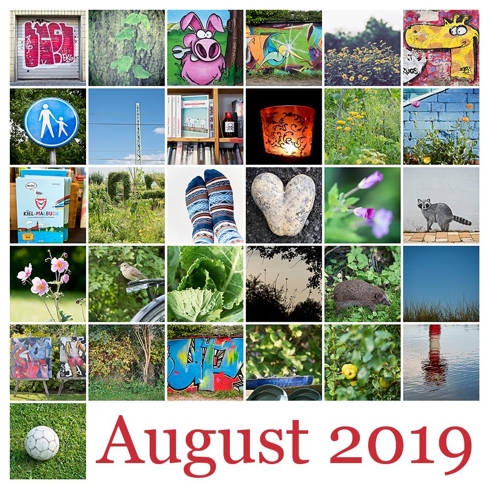 365-Tage-Projekt August-Tableau © 2019 Sabine Lommatzsch