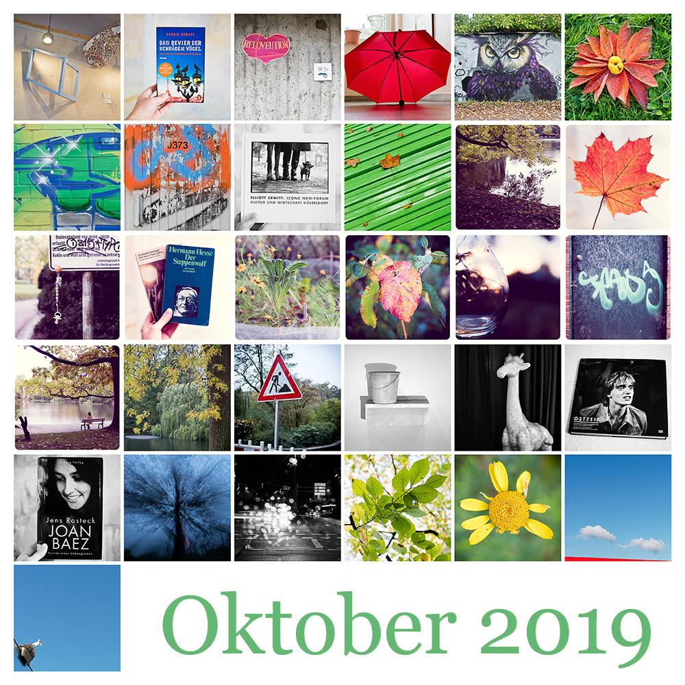 365-Tage-Projekt Oktober-Tableau © 2019 Sabine Lommatzsch