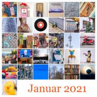 Januar-Tableau © 2021 Sabine Lommatzsch