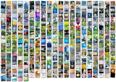 365-Tage-Projekt Jahres-Tableau © 2018 Sabine Lommatzsch