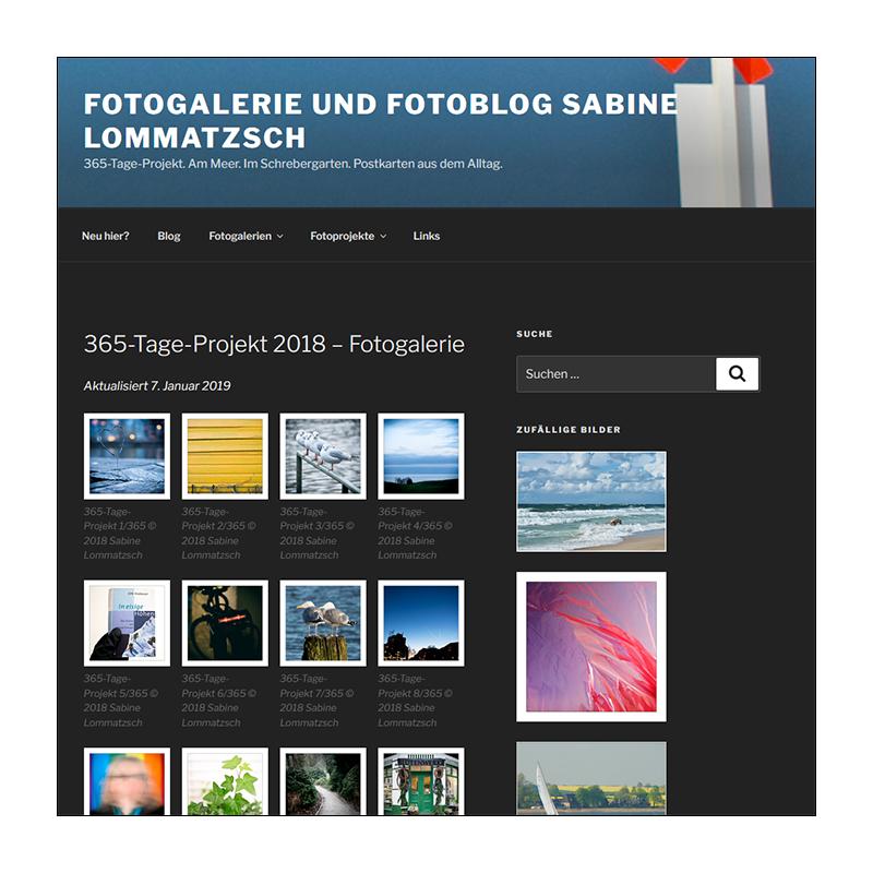 Fotogalerie 365-Tage-Projekt 2018