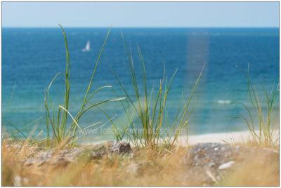 Blick auf die Nordsee vor Sylt © 2014 Sabine Lommatzsch
