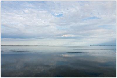 Watt und Wolken am Hindenburgdamm © 2016 Sabine Lommatzsch