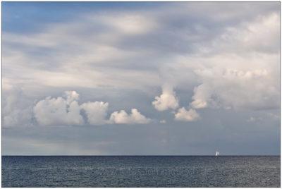 Weite und Wolken in Surendorf © 2013 Sabine Lommatzsch