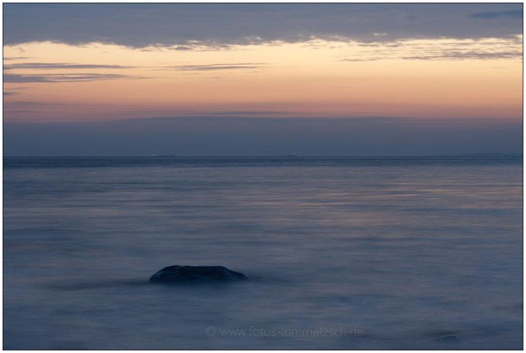 Langzeitbelichtung bei Sonnenaufgang in Stohl © 2014 Sabine Lommatzsch