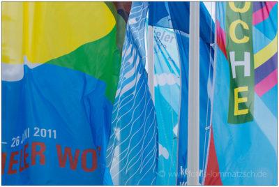 Flaggen zur Kieler Woche © 2014 Sabine Lommatzsch