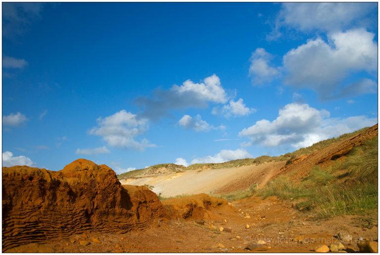 Morsum Kliff im Juli © 2009 Sabine Lommatzsch